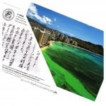 ワイハーにあるパロロ観音寺の松本恵心住職から届いたNew Year Cardで心が決まりました!